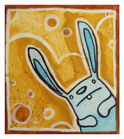 Little Paintings - bunny by Duffzilla