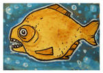 Little Paintings - piranha