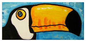 Little Paintings - toucan