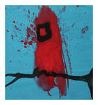 Little Paintings - Cardinal