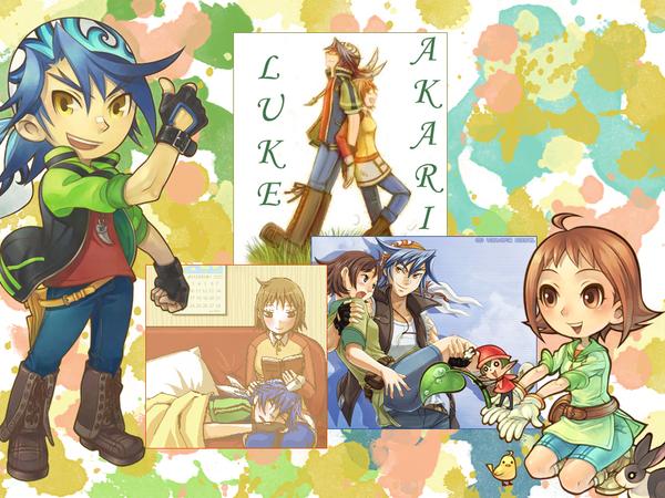Harvest Moon: Luke x Akari by IttyBittyVic on DeviantArt