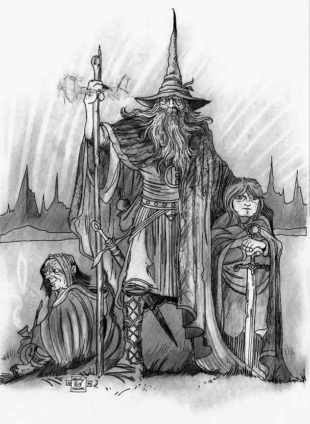 LORD OF THE RINGS by BLUEHAWK-55 on DeviantArt