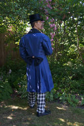 Victorian Steampunk gentleman STOCK backside by Cyan-stock