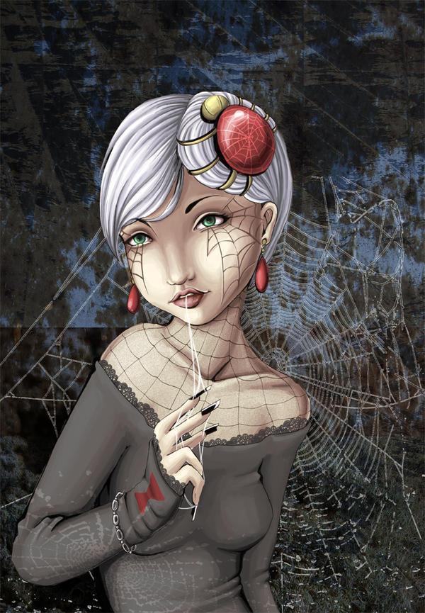 Spider Woman by kangel