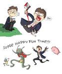 SUPER HAPPY FUN TIME