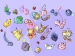 Pokemon Drop by kangel