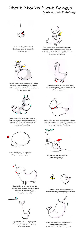 Animal Stories Calendar