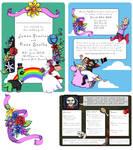 Unicorn Reality Wedding Invites by kangel