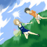 Art Request - Rin and Kouki by Limitless-Skye