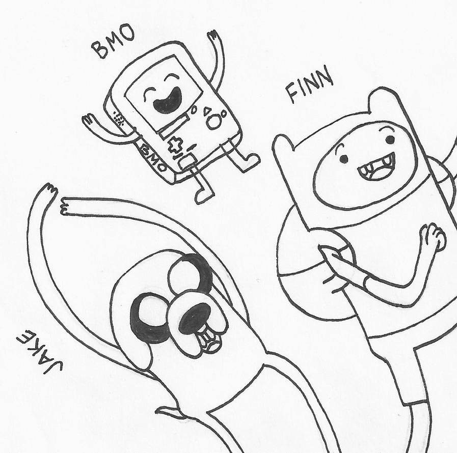 (Adventure Time) Friends! by kantiran