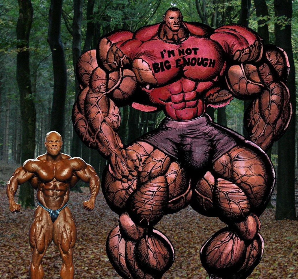 Super Muscle Freak One by radiokida