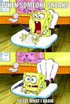 Spongebob drawing meme