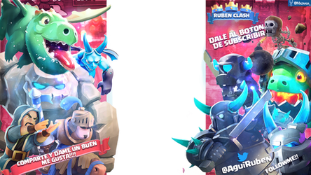 Overlay Clash Royale Tematic Colors Christmas by ExtasispsychedeliC