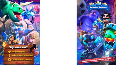 Overlay Clash Royale Update Colors Blu by ExtasispsychedeliC