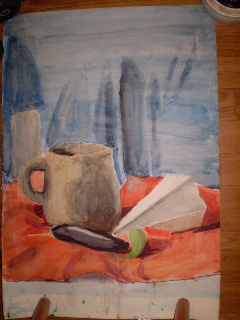 Still life - in aquarelle by LynKar144-DeST
