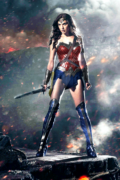 BvS Wonder Woman New 52 Recolor by AnnikaClarisse