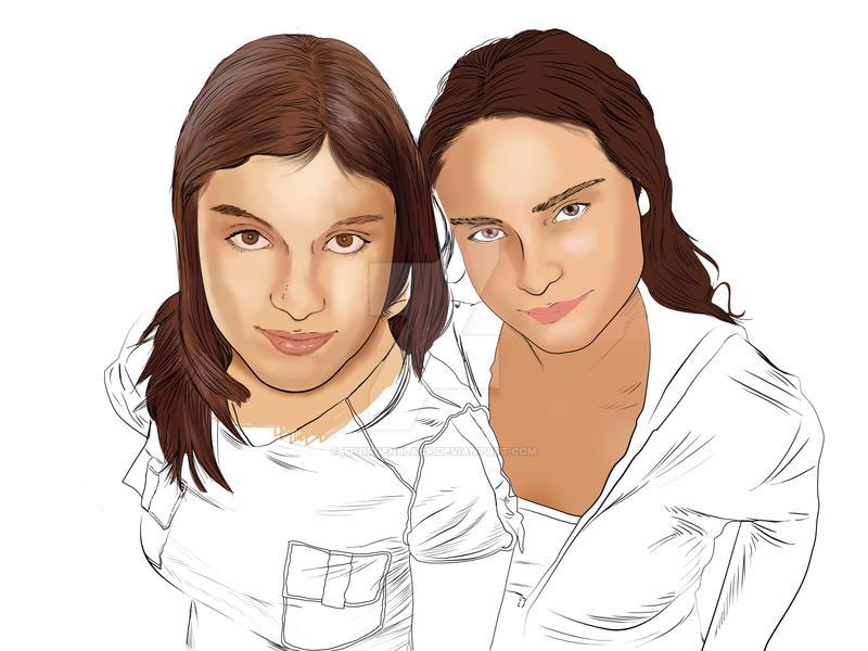 my girls by ThordenBlack