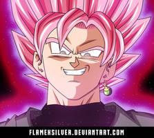 Super Saiyan Rose Goku Black! v1 by FlameXSilver