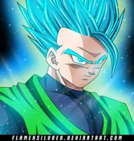 Super Saiyan Blue Gohan Great Saiyaman! by FlameXSilver
