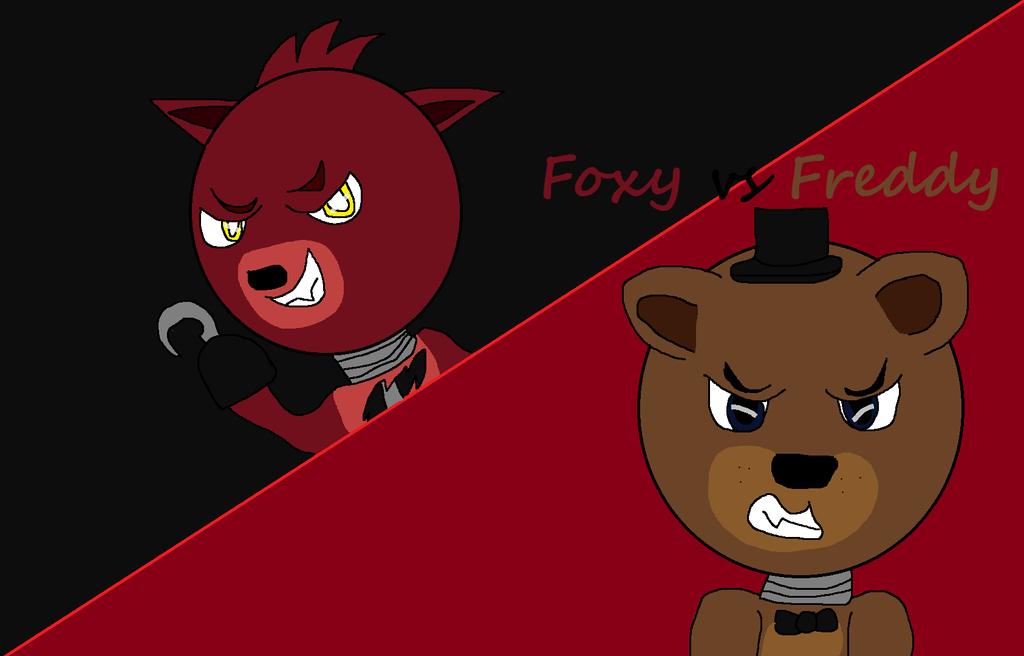 Golden freddy vs foxy