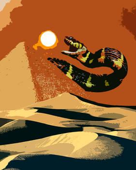 Apep Swallows the Sun -Color Blotch-