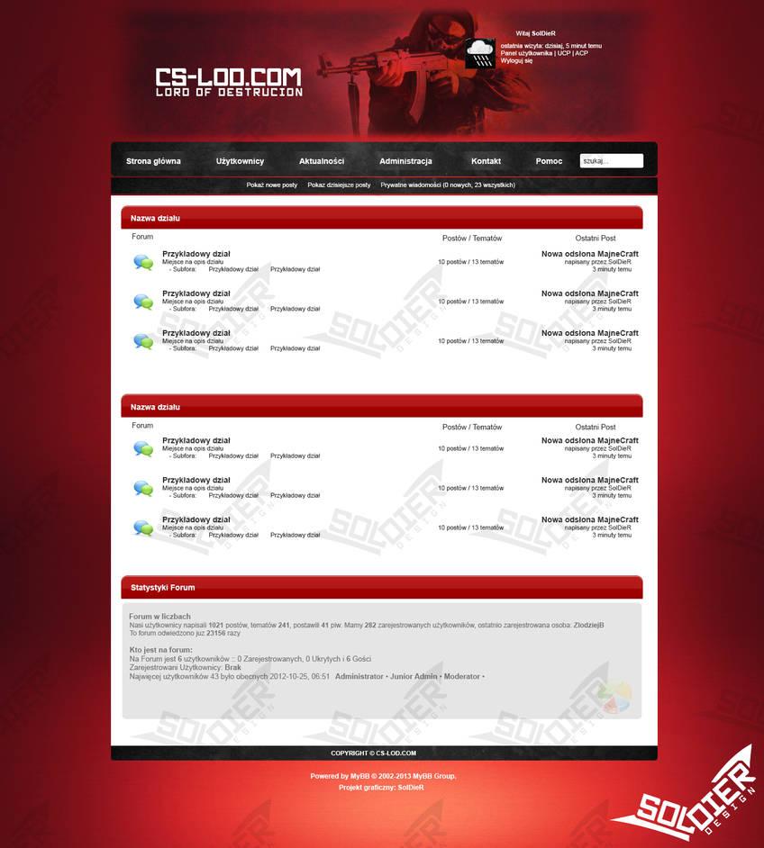 MyBB layout - Counter Strike by SolDieR100 on DeviantArt