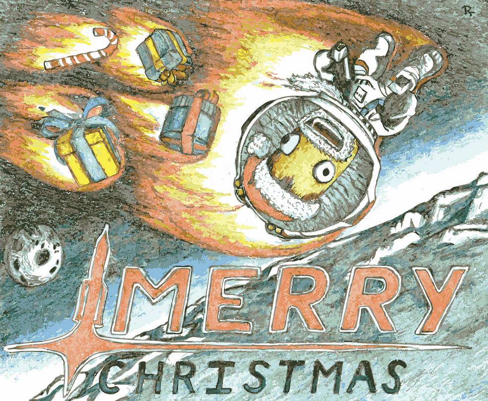 Kerbal Christmas Vectorised by StoicLewy