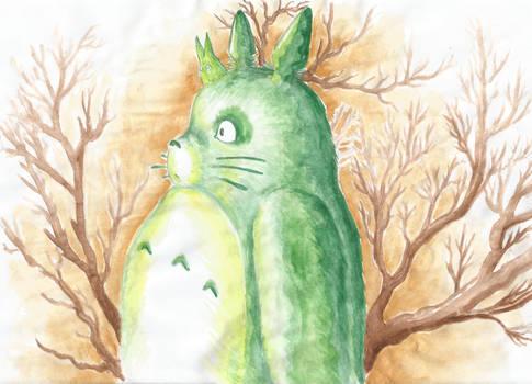 Totoro vert pour Mina