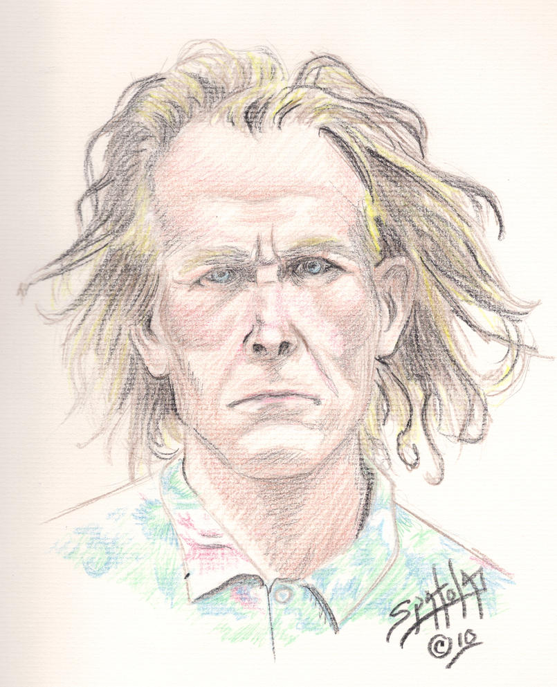 nick nolte dui mug shot by paulspatola on deviantart. Black Bedroom Furniture Sets. Home Design Ideas