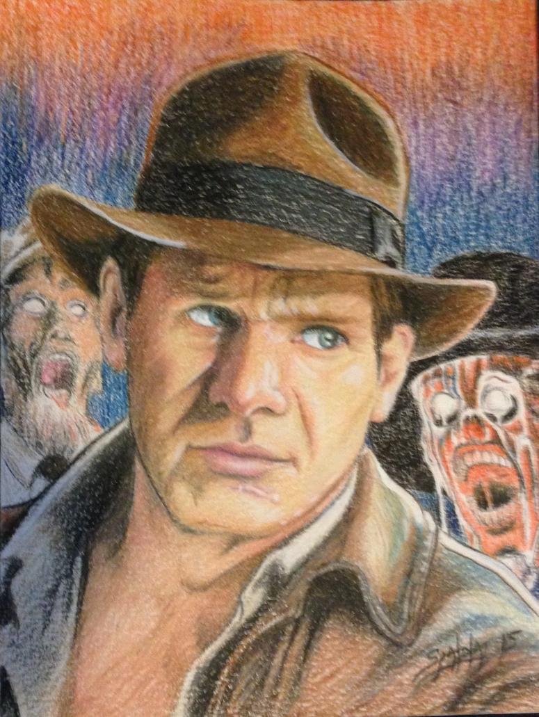 Indiana Jones by PaulSpatola