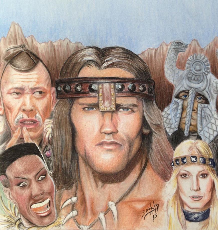 Conan The Barbarian by PaulSpatola