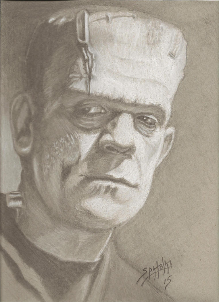 Karloff as The Undying Monster by PaulSpatola