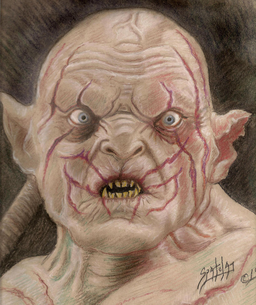 Azog the Defiler by PaulSpatola