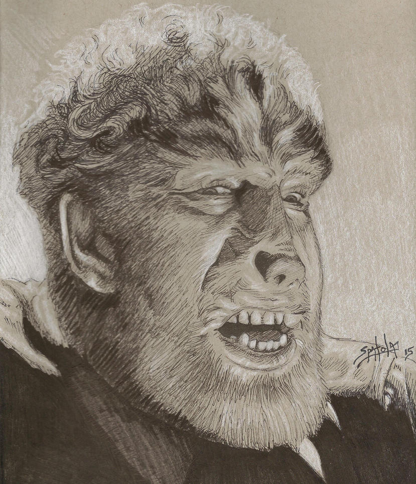 Snarl of The Wolfman by PaulSpatola