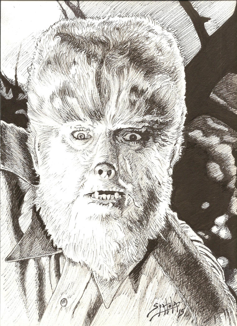 The Wolf Man from Frankenstein Meets the Wolf Man by PaulSpatola