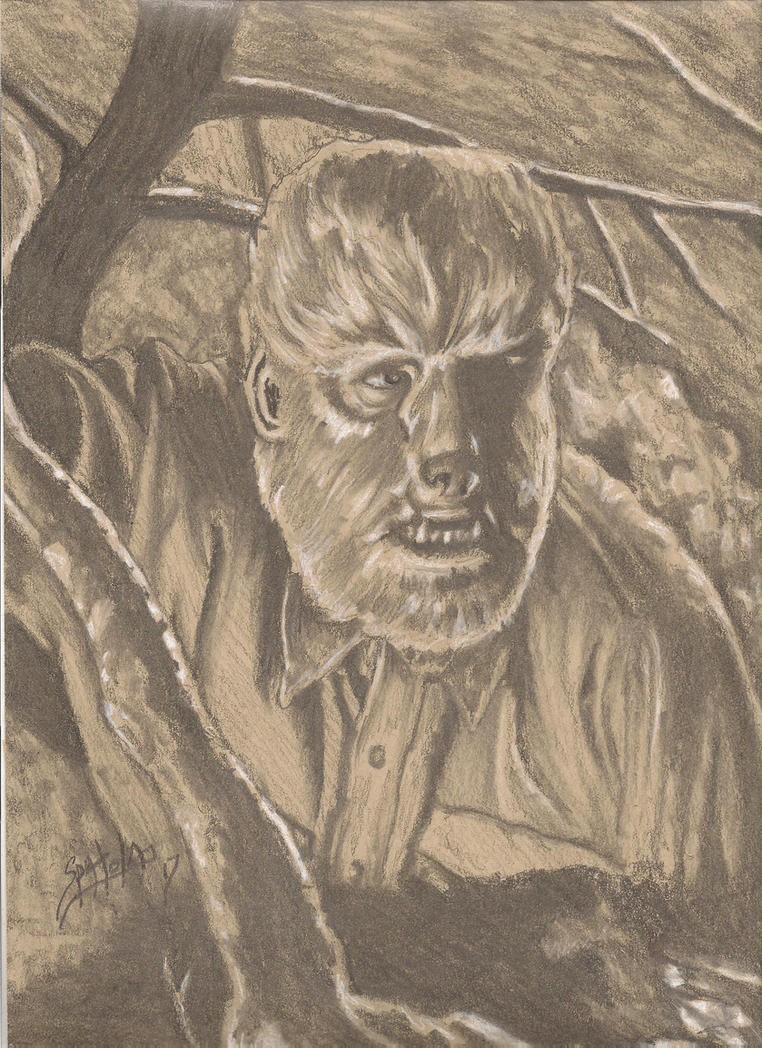 Frankenstein meets The Wolf Man by PaulSpatola