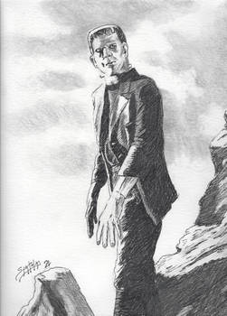 Frankenstein's Monster on The Loose