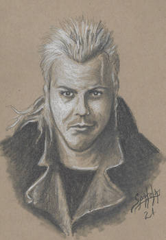 Kiefer Sutherland as David from The Lost Boys