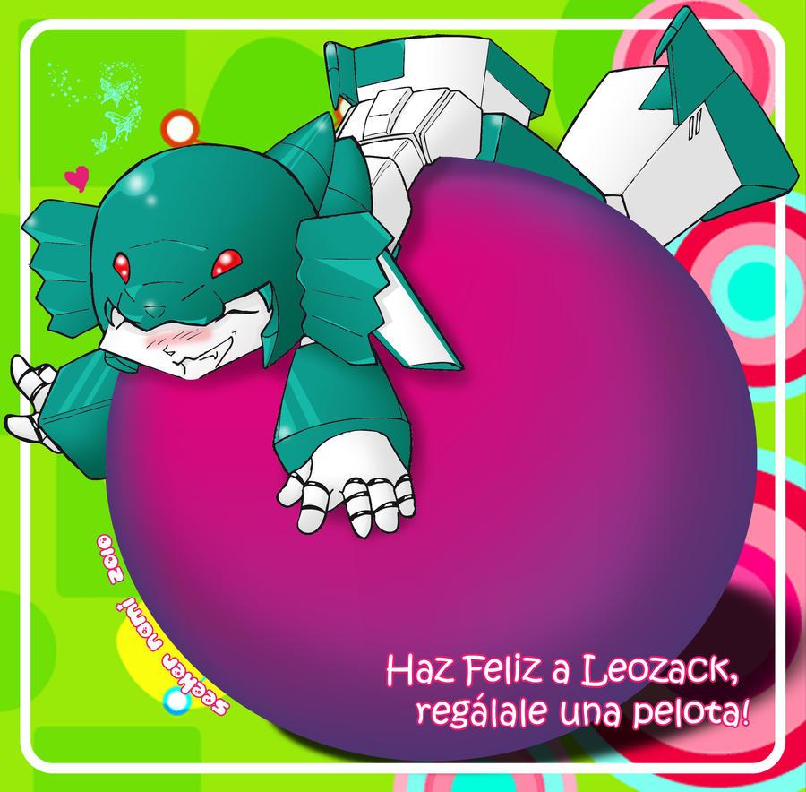 Give Leozack a Ball