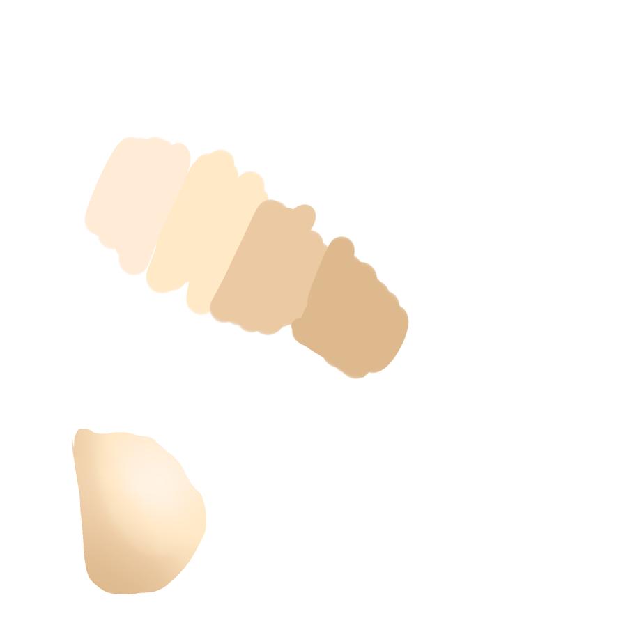 human Skin palettes by BigClaudia