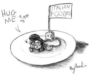 Italian food by BigClaudia