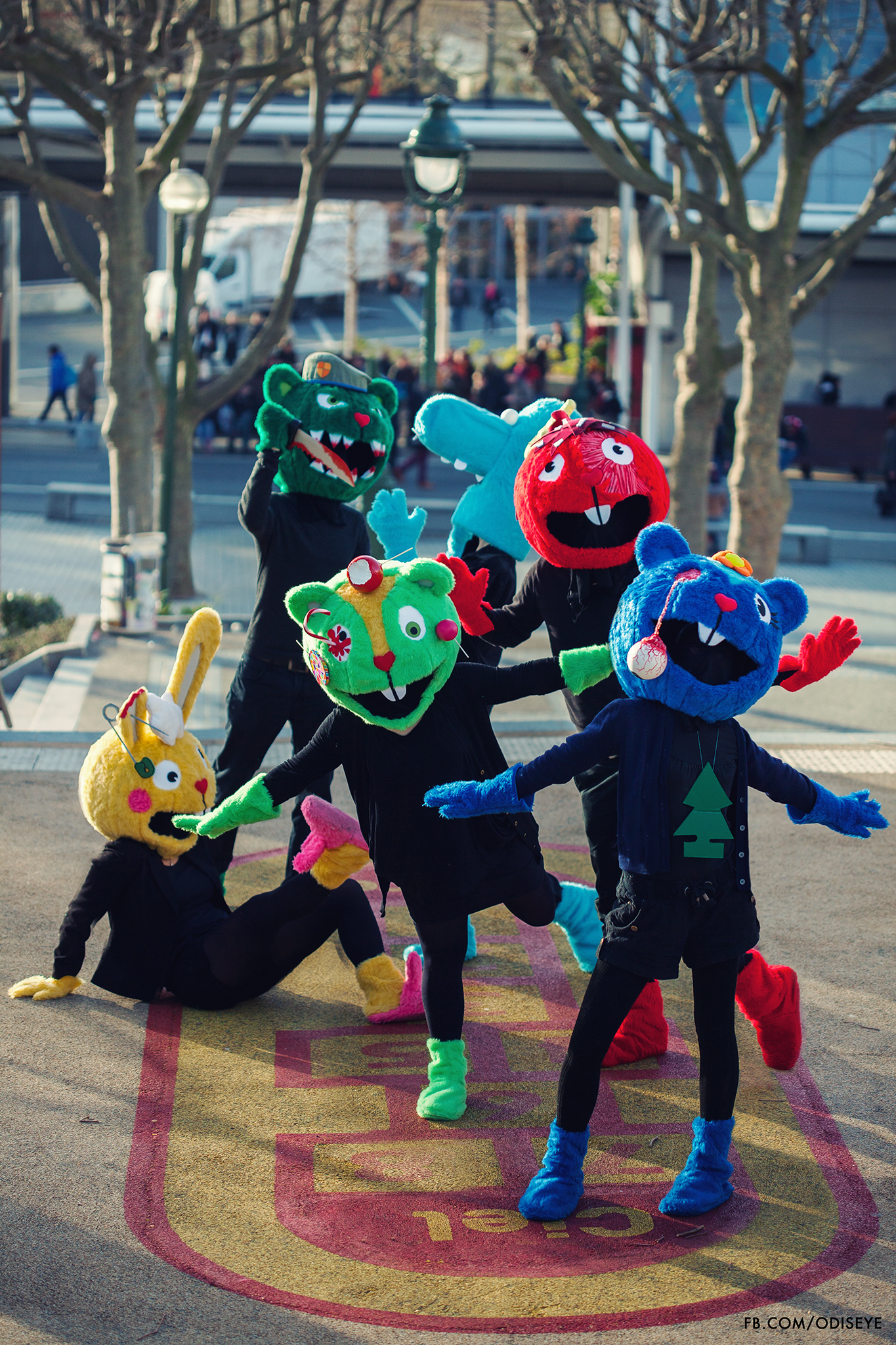 Happy Tree Friends by Chocosplay on DeviantArt