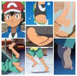 Ash ketchum feet