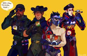 Blackwatch team by quintilli0n