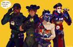 Blackwatch team