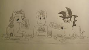 The IT Ponies: Lunch Break