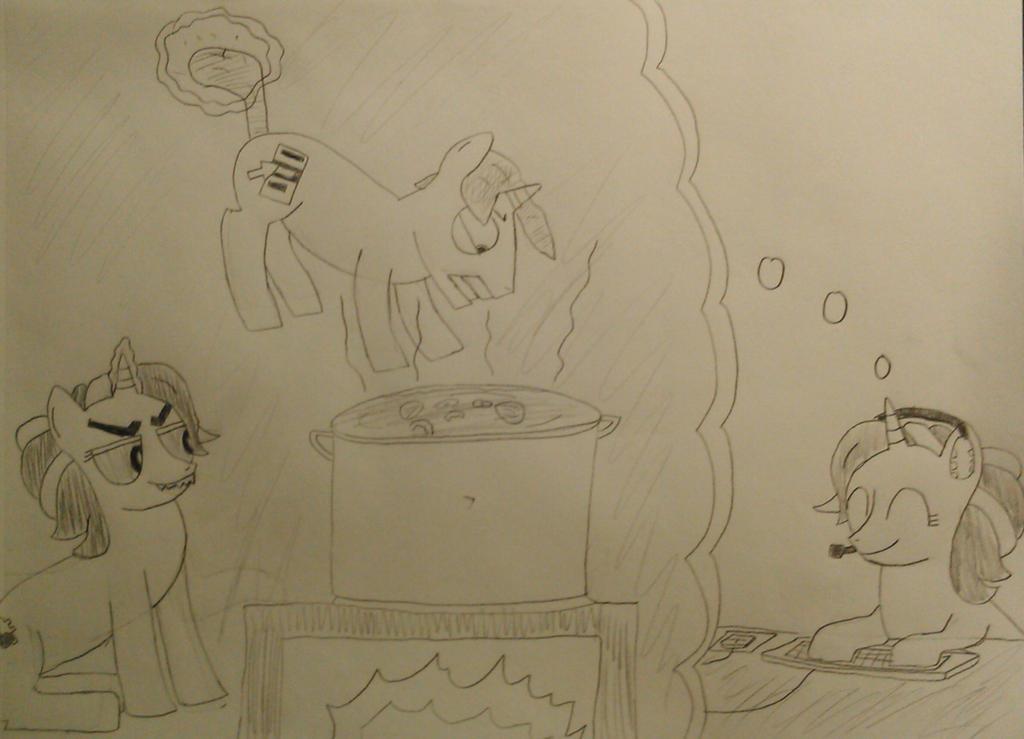 The IT Ponies: Eureka's Daydream