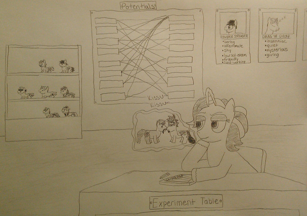The IT Ponies: Eureka's Shipping Lair