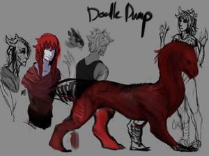 Doodle Dump - messes - style confusion