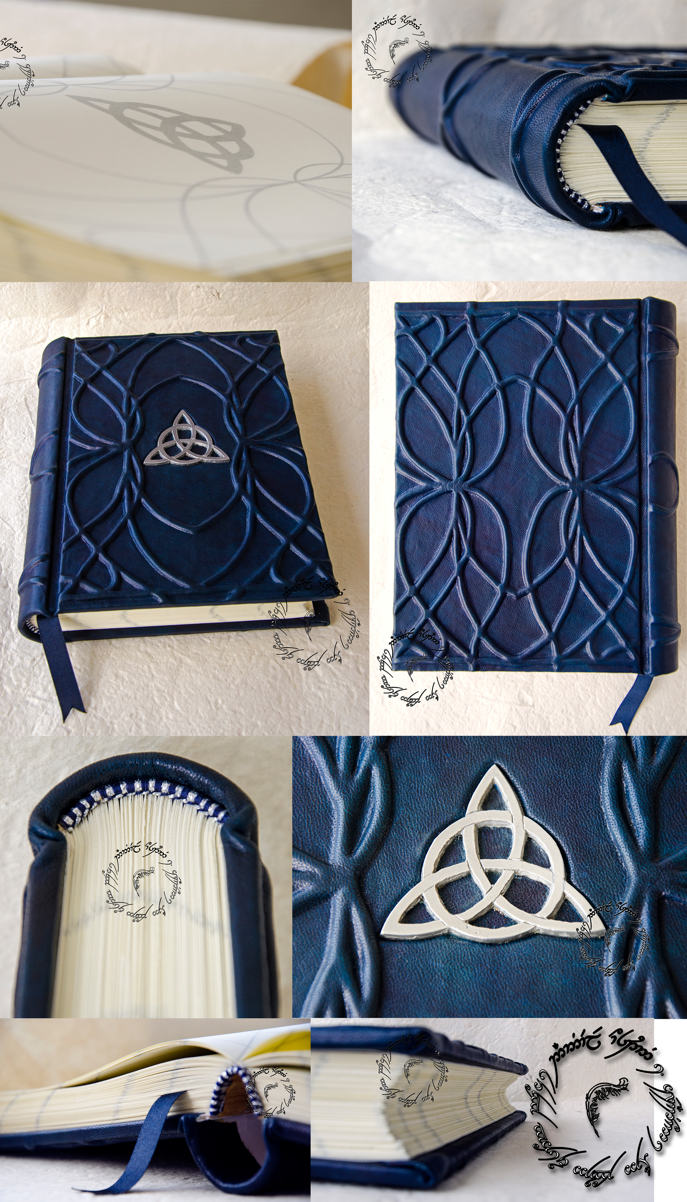 Book Cover Handmade Uk ~ Elven book by danybuffy on deviantart